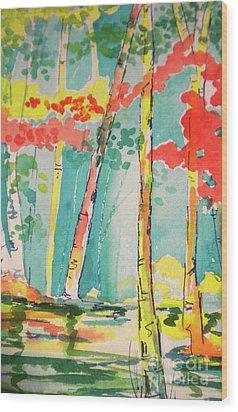 Sunday At Lake Lanier Wood Print