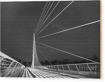 Sundial Bridge 2 Wood Print