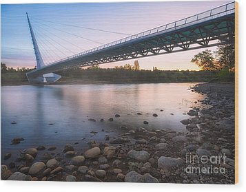 Sundial Bridge 7 Wood Print