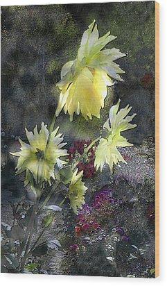 Sunflower Dream Wood Print