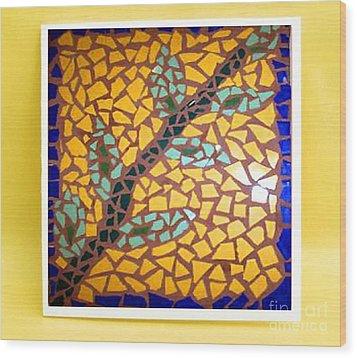 Sunflower Wood Print by John Vicic