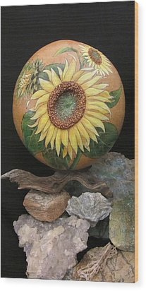Sunflowers Gn41 Wood Print
