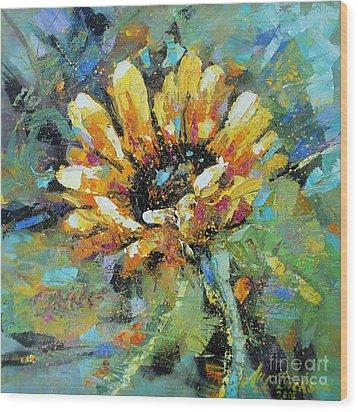 Sunflowers II Wood Print