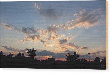 Sunlight Inspiration Wood Print