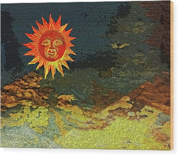 Sunny 1 Wood Print by Bruce Iorio