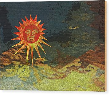Sunny 3 Wood Print by Bruce Iorio