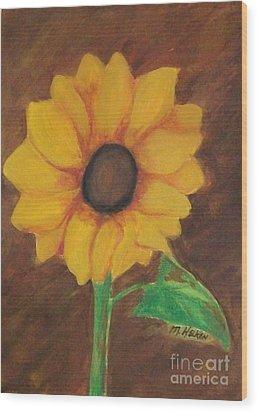 Sunny Side Up Wood Print by Marsha Heiken
