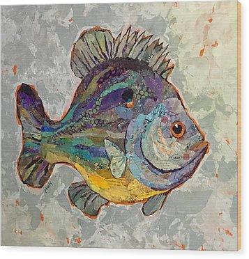 Sunnyfish Wood Print