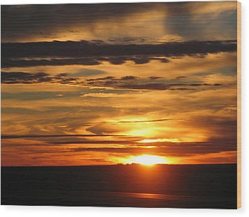 Wood Print featuring the photograph Sunrise 1 by David Dunham