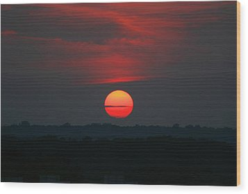 Wood Print featuring the photograph Sunrise 2 by David Dunham