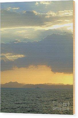 Sunrise After The Typhoon Wood Print