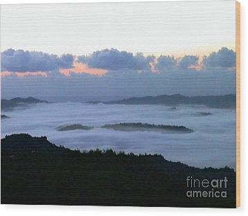 Wood Print featuring the photograph Sunrise by The Art of Alice Terrill