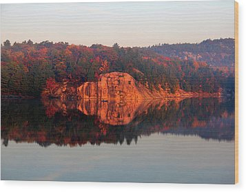 Wood Print featuring the photograph Sunrise And Harmony by Debbie Oppermann