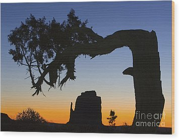 Wood Print featuring the photograph Sunrise At East Mitten by Jerry Fornarotto