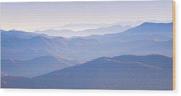 Sunrise Atop Clingman's Dome Gsmnp Wood Print