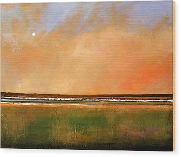 Sunrise Beach Wood Print by Toni Grote
