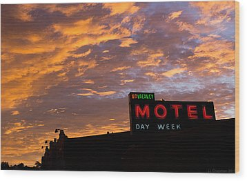 Wood Print featuring the photograph Sunrise Enters Capitola by Lora Lee Chapman