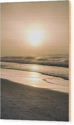 Wood Print featuring the photograph Sunrise In Orange Beach  by John McGraw