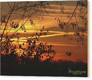 Sunrise In Tennessee Wood Print by EricaMaxine  Price
