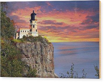 Sunrise Wood Print by Marty Koch