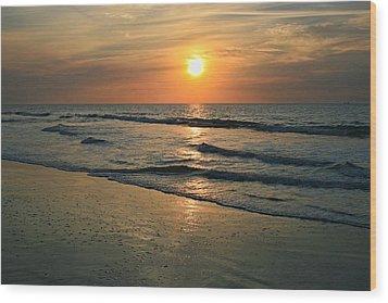 Sunrise Myrtle Beach Wood Print