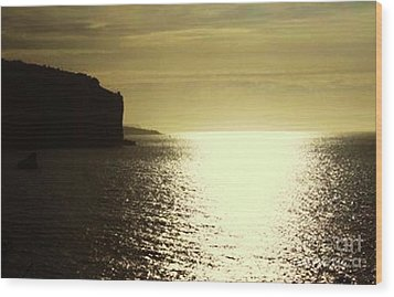 Sunrise On The Almalfi Coast Wood Print