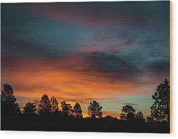 Sunrise Over The Southern San Juans Wood Print