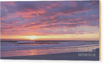 Sunrise Pinks Wood Print