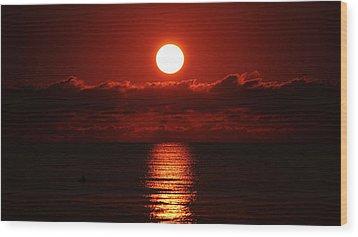 Sunrise Spotlight Delray Beach Florida Wood Print