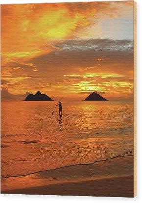 Sunrise Standup Wood Print