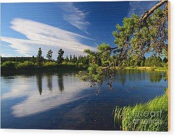 Sunriver Spectacular Wood Print