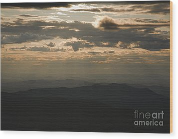 Sunset - White Mountains New Hampshire Usa Wood Print by Erin Paul Donovan