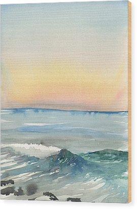 Sunset 33 - La Jolla Wood Print