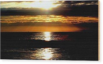 Sunset 4 Wood Print by J Perez