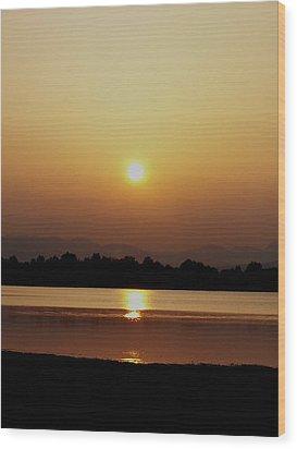 Sunset 4 Wood Print by Travis Wilson