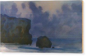 Sunset 4 Wood Print by Valeriy Mavlo