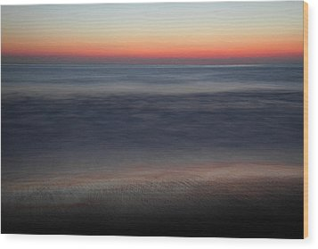 Sunset At Huntington Beach Wood Print by Pierre Leclerc Photography