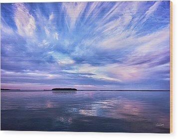 Sunset Awe  Signed Wood Print