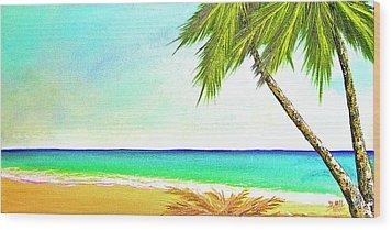 Sunset Beach #373 Wood Print by Donald k Hall