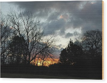 Sunset Dreams Wood Print by Kicking Bear  Productions