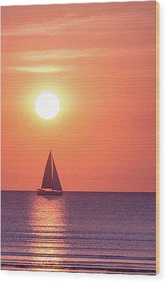 Sunset Dreams Wood Print by Racheal Christian