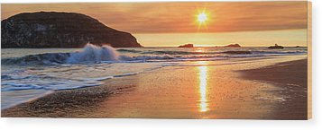 Wood Print featuring the photograph Sunset In Brookings by James Eddy