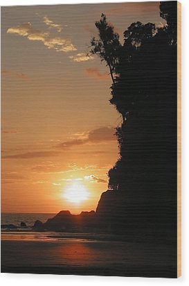 Sunset No.1 Wood Print by Gregory Young