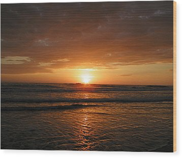 Sunset No.5 Wood Print by Gregory Young