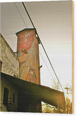 Wood Print featuring the photograph Sunset On The Mill by Sheep McTavish