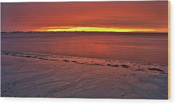 Sunset Over Anna Maria Island Wood Print by Jim Dohms