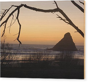 Sunset  Wood Print by Scott Gould