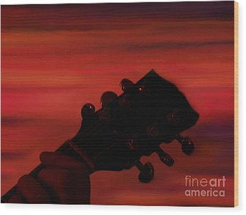 Sunset Serenade Wood Print