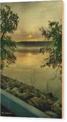 Sunset Splendor Wood Print by RC deWinter