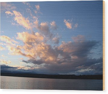 Sunset Two Wood Print by Ty Nichols